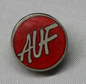 AUF pin gitt av Eli Anne Hole