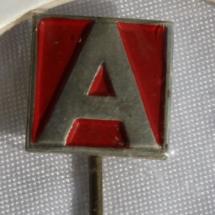 Arbeiderpartiet mini jakke nål gitt av Jens Otto Havdal