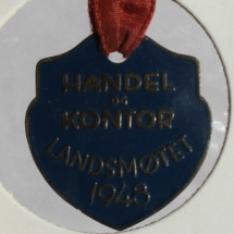 Handel og Kontor Landsmøte merke 1948