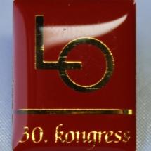 LO merke 30. kongress