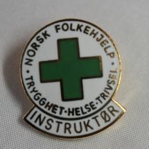 Norsk Folkehjelp Instruktør nål