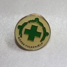 Norsk Folkehjelp jakke pin