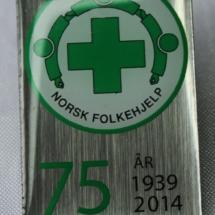 Norsk Folkehjelp merker 75 år 2014
