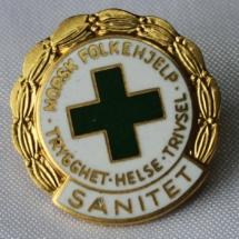 Norsk Folkehjelp merker historisk 30 år sanitet (fra 70-80 tallet)