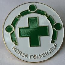 Norsk Folkehjelp merker lue merke