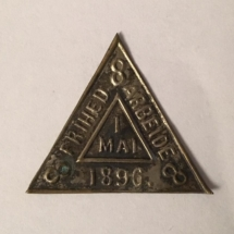 1 mai merke 1896 er ikke i samlingen men ligger i samlingen til Arne Riise