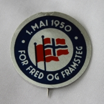 1 mai merke 1950 gitt av Jens Otto Havdal