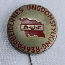 AUF jakke nål 1938