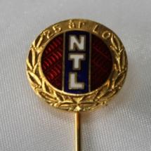 NTL 25 års nål m lang nål