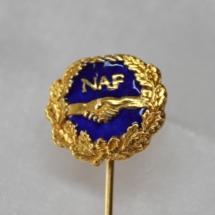 Norsk Arbeidsmannsforbund jakke nål gitt av Lene K Vikan