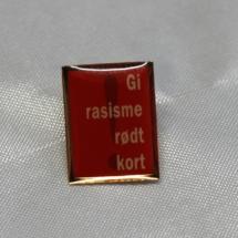 Norsk Folkehjelp og NISO Pins gi rassisme rødt kort