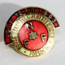 Norsk Fengsels og friomsorgsforbund 75 års jubileumsnål 1993