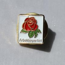Arbeiderpartiet Mini jakke pin fra 80 og 90 tallet