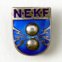 Norsk Elektriker og Kraftstasjons forbund (Merket ligger i Asbjørn Moens sin samling)