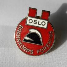 Oslo brannkorpsforening pin