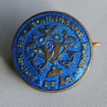 Norsk Bekledningsarbeider forbund 25 års merke (etb 1890 og dannet Bekledningsarbeiderforbundet i 1969)