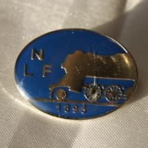 Norsk Lokomotivmannsforbund jakkemerke (versjon 2)