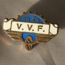 Vestre Verksteds forening 25 års medlemskap i NJF