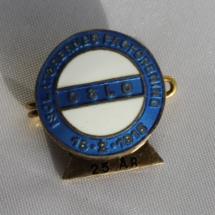 Isolatørenes fagforening 25 års nål