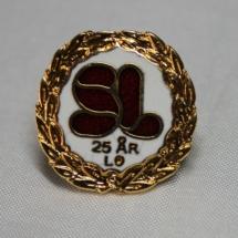 Skolenes Landsforbund 25 års medlemspin