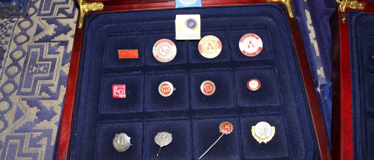 Pins samling 6 september 011