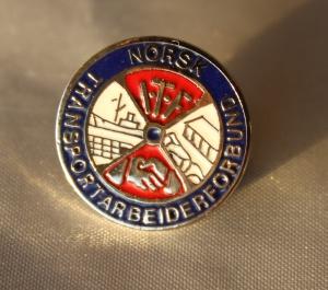 Norsk Transport Arbeiderforbund medlemsnål i bruk fram til 2016