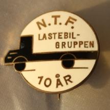 NTF Lastebilgruppen 10 år medlemskap