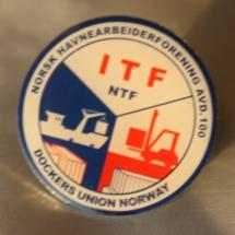 Oslo Havnearbeiderforening merke versjon 2
