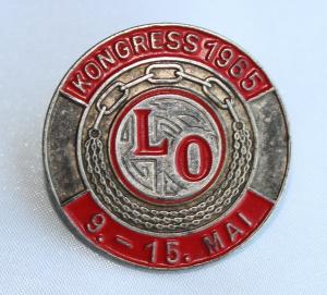 LO Kongressmerke 1965