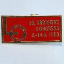 LO Kongressmerke 1993