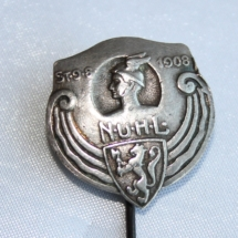 Norges Underordnede Handelstands Landsforbund 1909-1921 (Tidlig logo for Handel og Kontor)