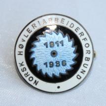 Norsk Høvleri arbeiderforbund (25 års jubileums nål 1936) gikk inn i Norsk bygningsindustri arbeiderforbund senere Fellesforbundet