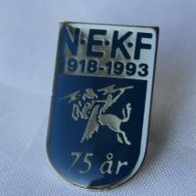 Norsk Elektriker og Kraftstasjons forbund 75 års jubileums merke 1993