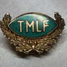 40 års merke fra Telegrafmennenes Landsforbund etablert i 1908 skiftet navn til DNTO i 1983