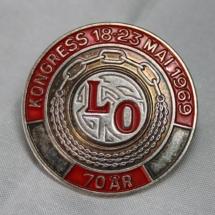 LO Kongressmerke 1969 (LO 70 år)