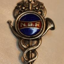 Norsk Postforbund medlemsmerke