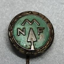Norsk Murerforbund nål opprettet 1900 gikk inn i NBIF i 1976