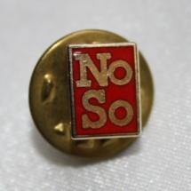 Norsk Sosionomforbund pin - etablert 1959 gikk inn i FO i 1992 ( merke ligger i samlingen til Ralf Stahlke)