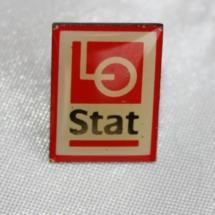 Kartell pin LO Stat etablert 1996 (merke ligger i samlingen til Ralf Stahlke)