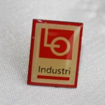 Kartell pin LO Industri etablert 1996 nedlagt i 2004 (merke gitt av Jens Otto Havdal)