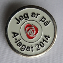 Stor Arbeiderparti pin 2014