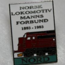 NLF jubileums merke 100 år Nord