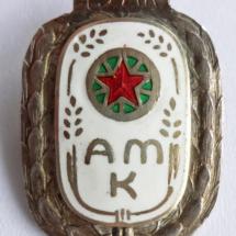 Arbeidernes Motorklubb m/ krans 15 år