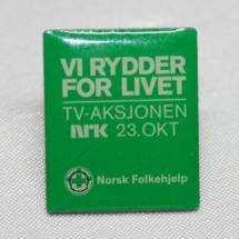 Norsk Folkehjelp TV-aksjonen pin fra 2011