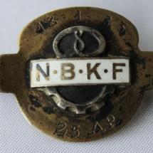 25 års merke fra Norsk Baker og Konditorforbund etab 1893 gikk inn i NNN i 1963