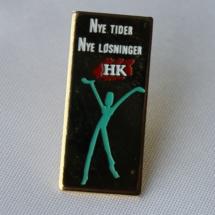 HK Landsmøte merke fra 1996 (Gitt av Jens Otto Havdal)