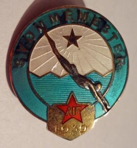 AIF svømmemester 1939