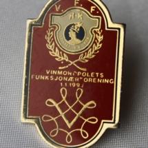 Vinmonopolets Funksjonærforening pin (HK kobling)