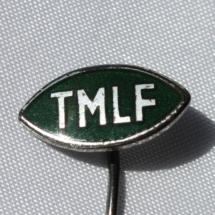 Merke fra Telegrafmennenes Landsforbund etablert i 1908 skiftet navn til DNTO i 1983