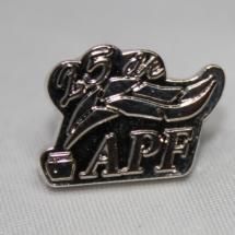 Arbeiderbevegelsens Presseforbund pin for 25 års medlemskap